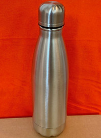 Tumbler 17 OZ, Cola Shaped Water Bottle (Stainless Steel)