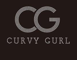 CG CURVY GURL custom Rhinestone Transfer