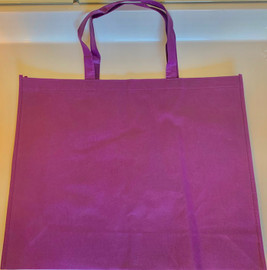 "Large Tote Bag (Purple) 20""W x 16""H x 6""D"