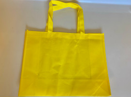 "Medium Tote Bag (Yellow) 16""W x 12""H x 6""D"