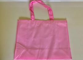 "Medium Tote Bag (Pink) 16""W x 12""H x 6""D"