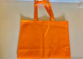 """Medium Tote Bag (Orange) 16""""W x 12""""H x 6""""D"""