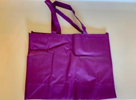 """Medium Tote Bag (Purple) 16""""W x 12""""H x 6""""D"""