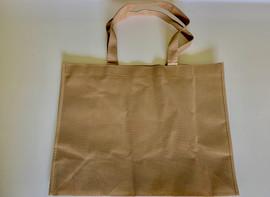 "Medium Tote Bag (Khaki) 16""W x 12""H x 6""D"