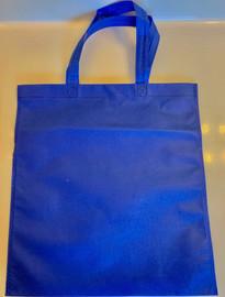 """Non Woven Tote Bag (Royal Blue) 13.5""""W x 14.5""""H"""