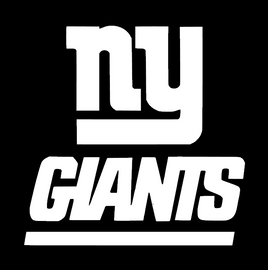 NY Giants - vinyl transfer