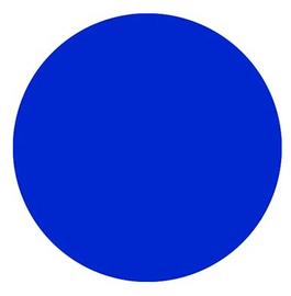 Royal Blue PVC 09 - SIGN Vinyl Sheet/Roll (PVC)