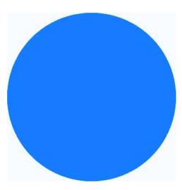 Neon Blue PVC 22 - SIGN Vinyl Sheet/Roll (PVC)
