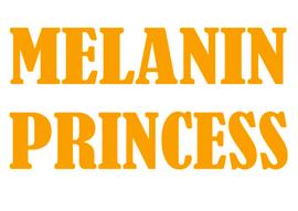 (GOLD) MELANIN PRINCESS - custom vinyl transfer