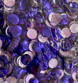 13mm Nailhead Dark purple Round 500 pc Loose Hot fix