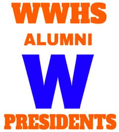 ( WWHS Alumni W President - custom  vinyl transfer