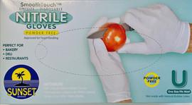 100 Nitrile Gloves Disposable (Powder Free)