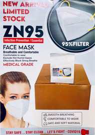 ZN95 Face Mask Infection Prevention Breathable and Comfortable (1 Qty)