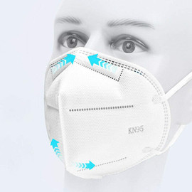 (Pack of 10) KN95 Face Mask Disposable 3-Dimensional Protection