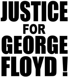 JUSTICE FOR GEORGE FLOYD! Vinyl Transfer