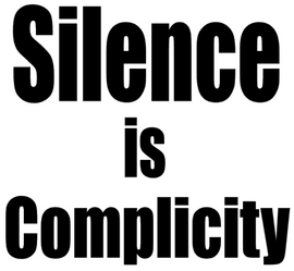 Silence is Complicity - Vinyl Transfer