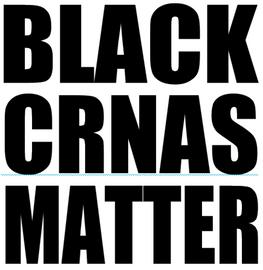 Black CRNAS Matter - Vinyl Transfer