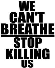 We Can't Breathe - Stop Killing us - Vinyl Transfer