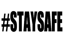 #STAYSAFE - Vinyl Transfer