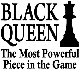VINYL TRANSFERS Black Queen, The Most Powerful piece in the Game