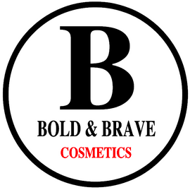 Bold and Brave Cosmetics- custom Vinyl Transfer