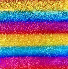 Line Multi Hologram Vinyl Sheet/Roll HTV