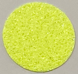 Neon Rainbow Yellow Glitter Vinyl Sheet/Roll HTV