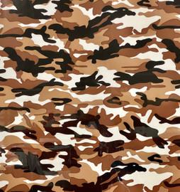 Military brown Pattern Vinyl Sheet/Roll HTV