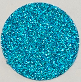 Sky Blue Glitter Vinyl Sheet/Roll HTV
