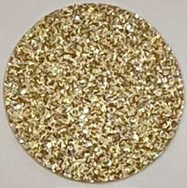 Pastel Gold  Glitter Vinyl Sheet/Roll HTV