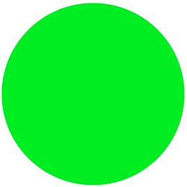 Neon GREEN - Glow in the Dark Vinyl Sheet/Roll HTV