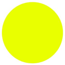 Neon YELLOW - Glow in the Dark Vinyl Sheet/Roll HTV