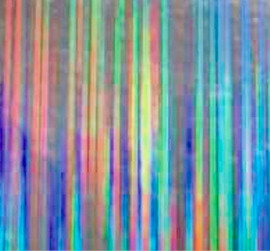 Holo Rain Silver - Flex Foil Vinyl Sheet/Roll HTV