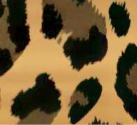 Leopard-a Gold - Flex Foil Vinyl Sheet/Roll HTV
