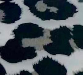 Leopard-a Silver - Flex Foil Vinyl Sheet/Roll HTV