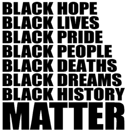BLACK HOPE LIVES PRIDE PEOPLE -  Vinyl Transfer