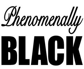 Phenomenally BLACK -  Vinyl Transfer