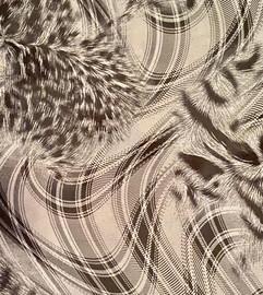 Plaid Pattern - Soft Metallic Vinyl Sheet/Roll HTV