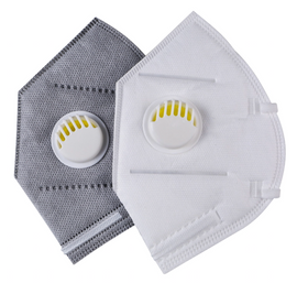 (Pack of 5) KN95 Face Mask (with Filter) Disposable (white)