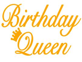 Birthday Queen Crown -  Vinyl Transfer
