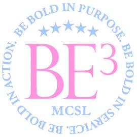 (Glitter vinyl) BE3 - Be Bold in Purpose - Vinyl Transfer
