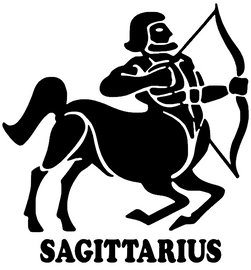 SAGITTARIUS Zodiac horoscope Vinyl Transfer
