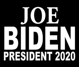 Joe BIDEN President 2020 - Vinyl Transfer