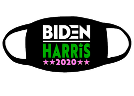 AKA BIDEN HARRIS 2020 for mask (white green pink) Vinyl Transfer