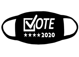 Vote 2020 for mask - Vinyl Transfer