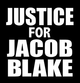 Justice for Jacob Blake - Vinyl Transfer (WHITE)