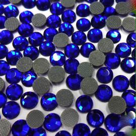 Cobalt Blue 4mm 16ss 2cut Premium quality Loose Hotfix Rhinestone
