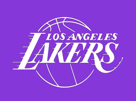 Los Angeles Lakers - Vinyl Transfer (WHITE)