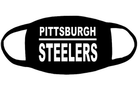 Pittsburgh Steelers (for mask) custom Vinyl Transfer