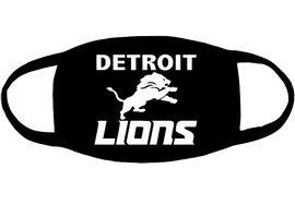 Detroit Lions (for mask) - custom Vinyl Transfer